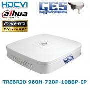 Dahua HDCVI 5104C-S2 4 CHANNEL 960H&720P&1080P TRIBIRD ANALOG-HDCVI-IP CAM