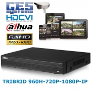 Dahua HDCVI 5108HE-S2 8 CHANNEL 960H&720P&1080P TRIBIRD 8 ALARM IN 3 OUT